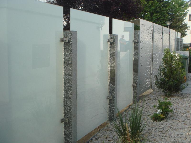 Praferenz Glas Sichtschutz Garten Qd73 Startupjobsfa
